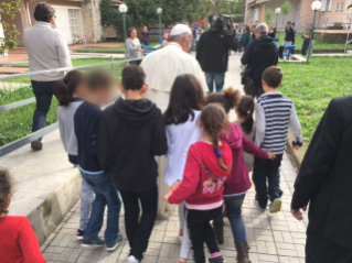 "Fridays of Mercy: Pope Francis Visits the ""Villaggio SOS Bambini"""